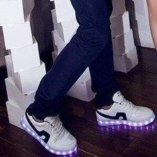Simulation schoenen light up! (zwart)