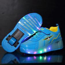 B-keus, Maat 36, weelys schoenen blauw