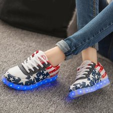Lichtgevende led schoenen USA