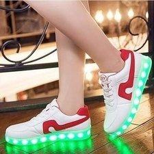 Schoenen met lichtjes light up! (rood)