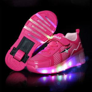rolschoenen met lichtjes