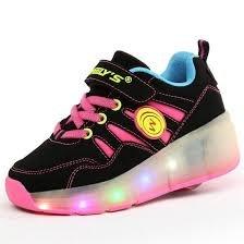B-keus: Maat 31: schoenen weelys pink