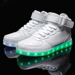 hoge schoenen met lichtjes